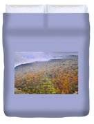 Raniy Days In Automn Duvet Cover