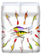 Rapala Knights Of The Sea Duvet Cover