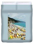 Rapallo Beach Duvet Cover