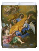 Rapture Of Saint Joseph Duvet Cover
