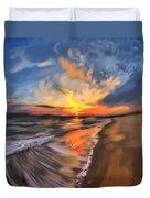 Rare California Sunset Duvet Cover