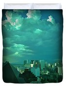 Rare Clouds Over Vegas Duvet Cover