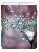 Rasberry Sparkles Duvet Cover