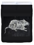 Rat - Oil Portrait Duvet Cover