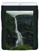 Rauma County Waterfall Duvet Cover