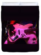 Raunchy Guitar Duvet Cover by Bob Christopher