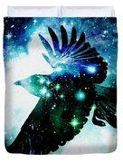 Raven Duvet Cover by Anastasiya Malakhova