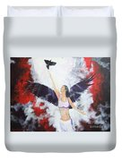 Raven Freed Duvet Cover