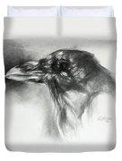 Raven Head Duvet Cover