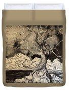 Ravenlight Tree Duvet Cover