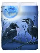Raven's Moon Duvet Cover