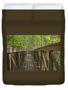 Ravine Gardens - Florida's Hidden Treasure Duvet Cover by Christine Till