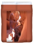 Ravine Walk - Antelope Canyon Duvet Cover