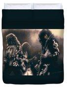 Raw Energy Of Led Zeppelin Duvet Cover