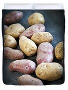 Raw Potatoes Duvet Cover