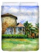 Rawlin's Plantation Inn St. Kitts Duvet Cover
