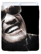 Ray Charles Duvet Cover