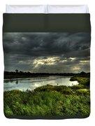 Lake Worth Sunlight Duvet Cover