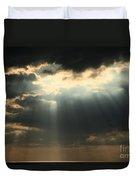 Rays From Heaven Duvet Cover