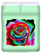 Razzle Dazzle Rose Duvet Cover