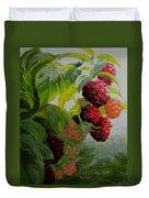 Razzleberries Duvet Cover