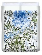 Reach To The Sky Duvet Cover