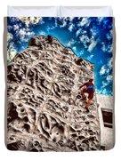Reaching A Climbmax Duvet Cover