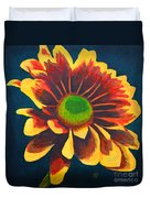 Reaching Bloom Duvet Cover