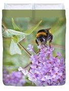 Reaching For Nectar Duvet Cover
