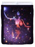 Reaching The Stars Duvet Cover