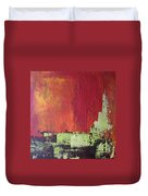 Reaching Up, Abstract  Duvet Cover