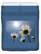 Reaching Up To Sol Duvet Cover