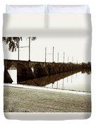 Cumberland Valley Railroad Bridge Duvet Cover