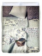 Reading Time Duvet Cover