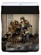 Ready For A Ride Duvet Cover