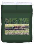 Ready The Ground Duvet Cover