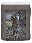 Ready To Howl Duvet Cover