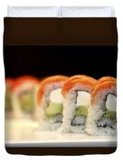 Ready To Serve Sushi  Duvet Cover