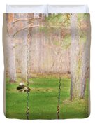 Ready To Take A Swing Duvet Cover