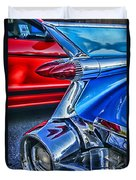 Rear Tail Lights Duvet Cover