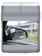 Rearview Mirror Duvet Cover