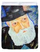 Rebbe's World  Duvet Cover