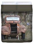 Rebel Truck Duvet Cover