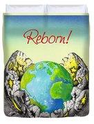 Reborn Duvet Cover by Anthony Mwangi