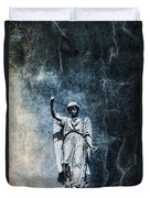 Reckoning Forces Duvet Cover by Andrew Paranavitana