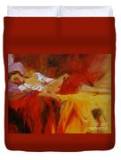Reclining Beauty 11 Duvet Cover