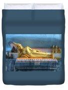 reclining Buddha Duvet Cover