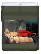 Reclining Woman Duvet Cover