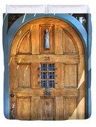Rectory Door Duvet Cover