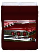 Red 1960 Chevy Tail Light Duvet Cover